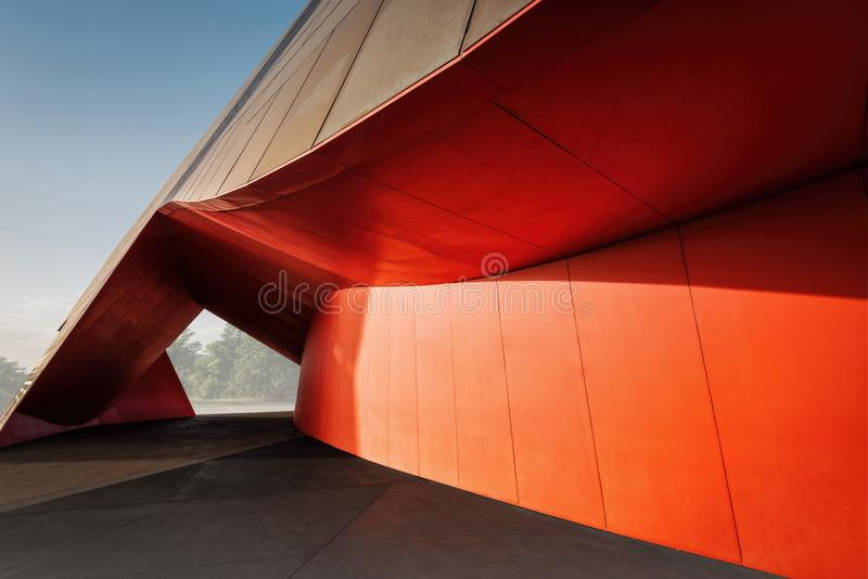 Canberra Architecture Art royalty free stock photo