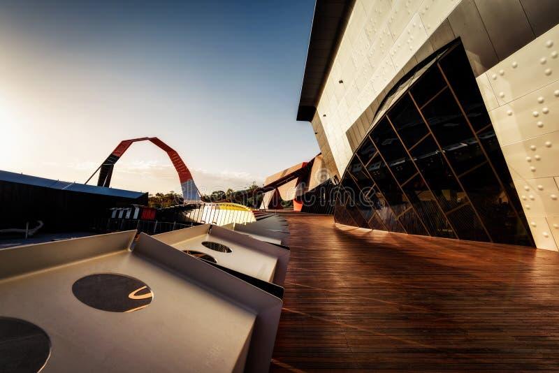 Canberra-Architektur-Kunst lizenzfreie stockbilder