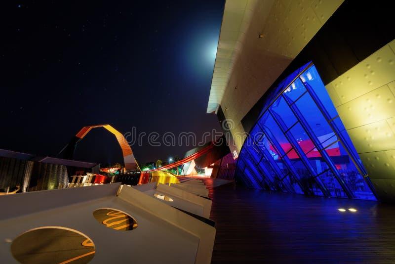 Canberra-Architektur-Kunst stockbild
