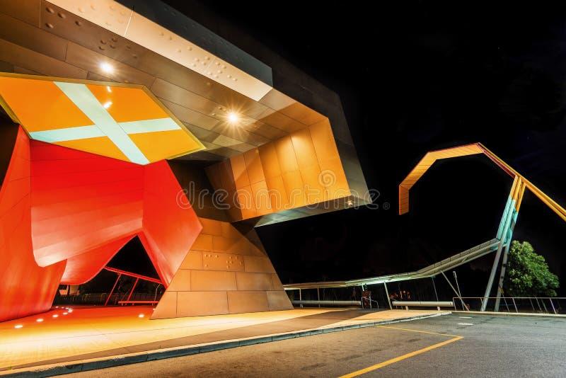 Canberra arkitekturkonst arkivbild