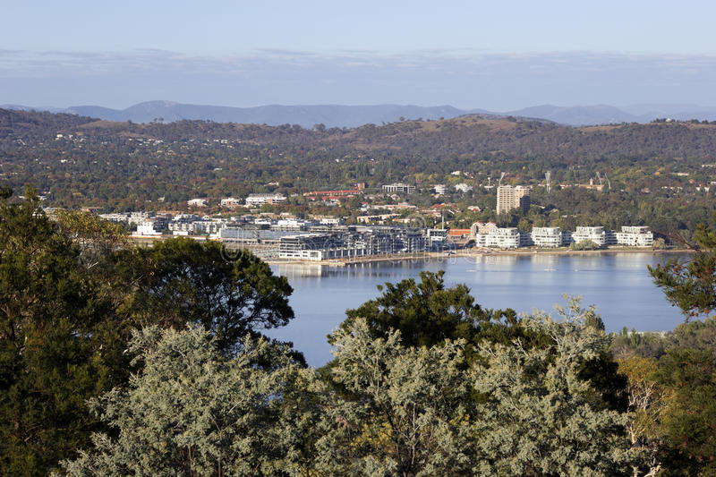 Canberra, Australia. Architecture of the city royalty free stock photo