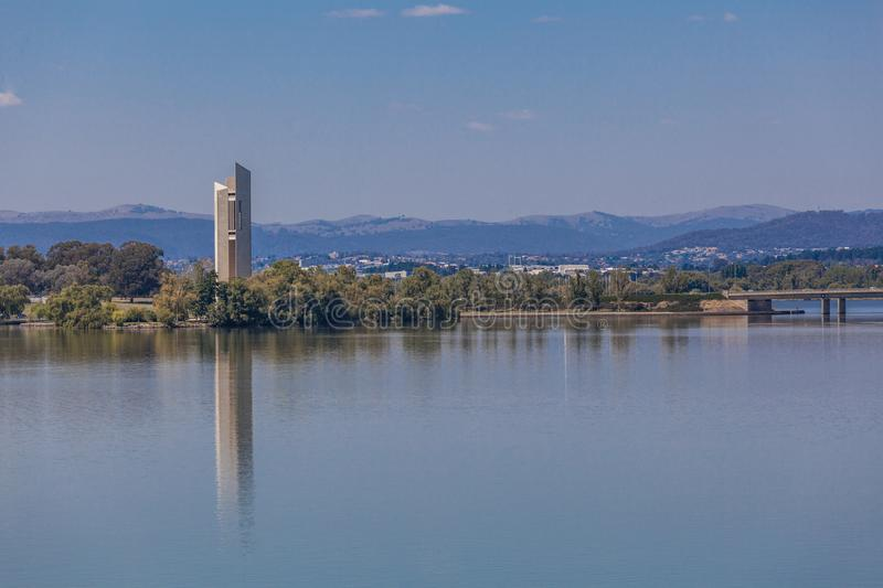 Canberra, Australie, carillon national photos stock