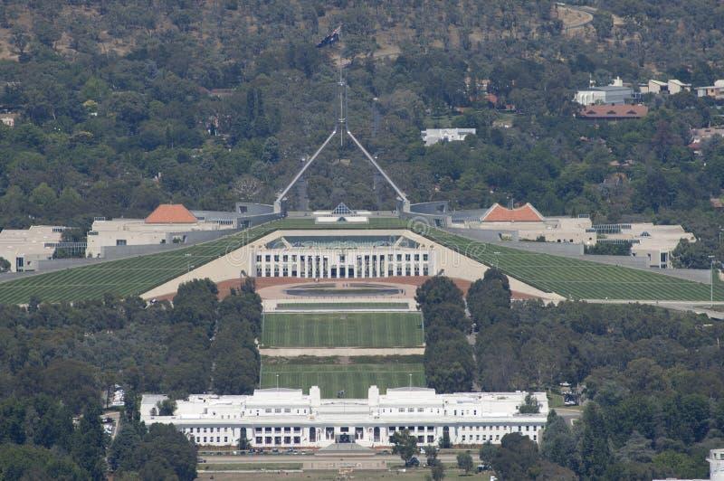 Canberra, die Hauptstadt von Australien lizenzfreies stockfoto