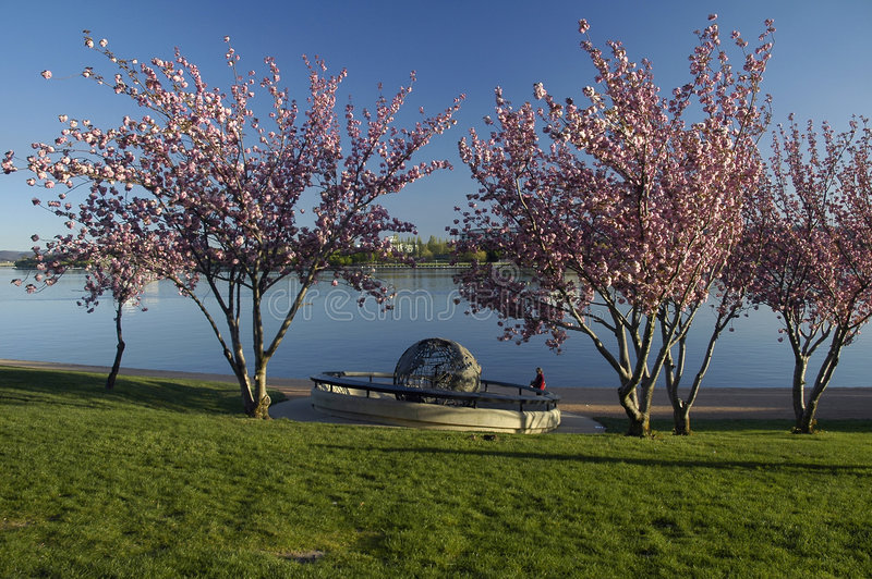 Download Canberra Globe stock image. Image of lake, griffin, tourist - 4068153
