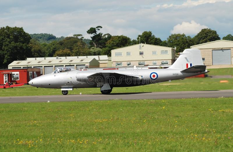 Canberra-Jet-Bomber stockfotos