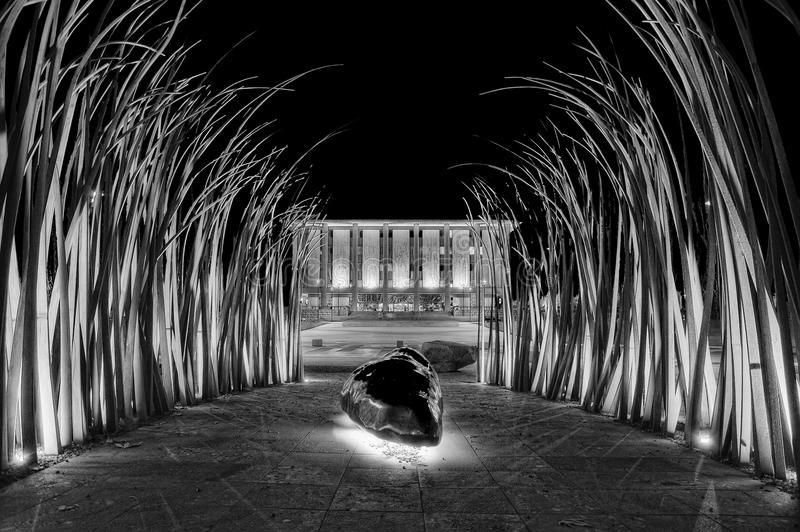 Canberra konst, Australien arkivfoton