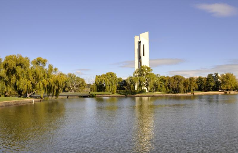 Canberra Landmark stock photo
