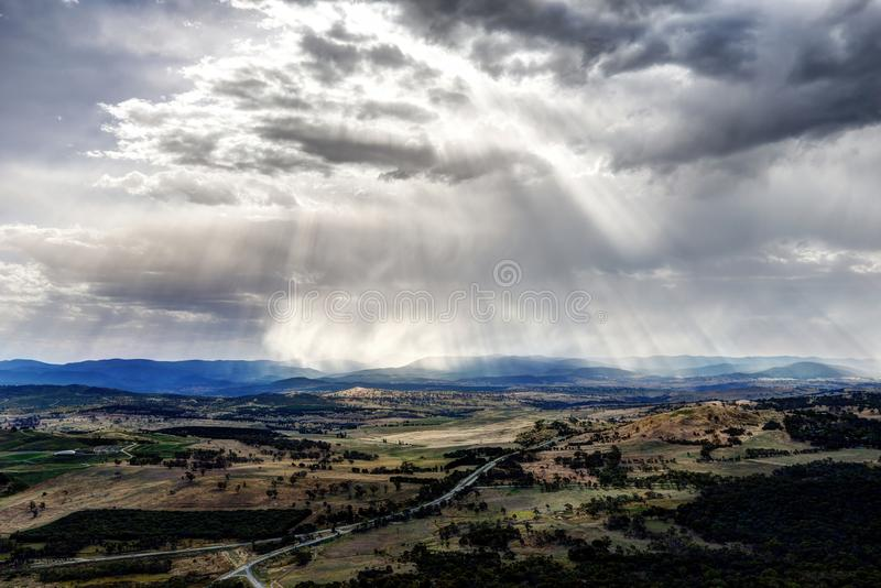 Canberra Landscape royalty free stock image