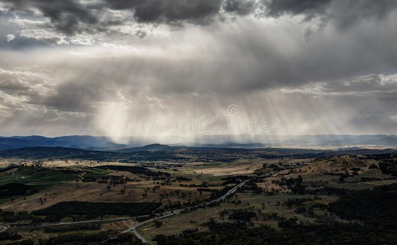 Canberra Landscape royalty free stock photos