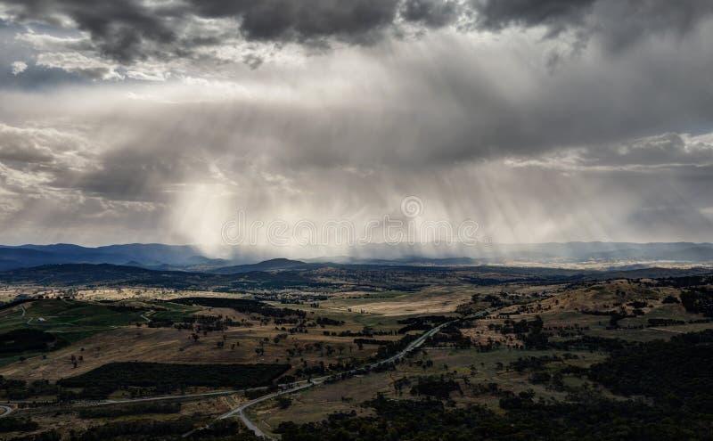 Canberra landskap royaltyfria foton