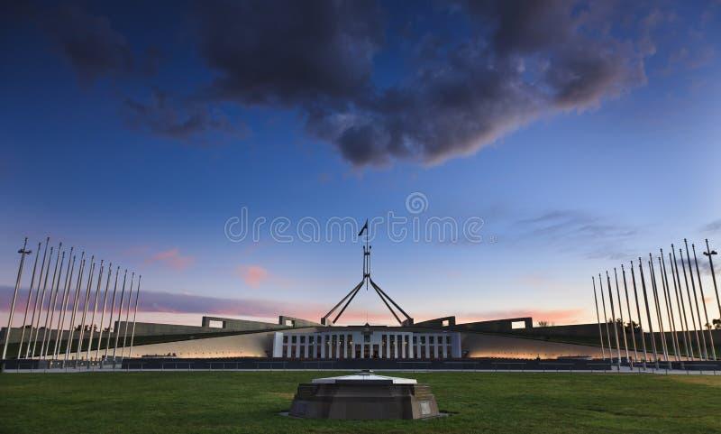 Canberra Parl 02 fotografia stock