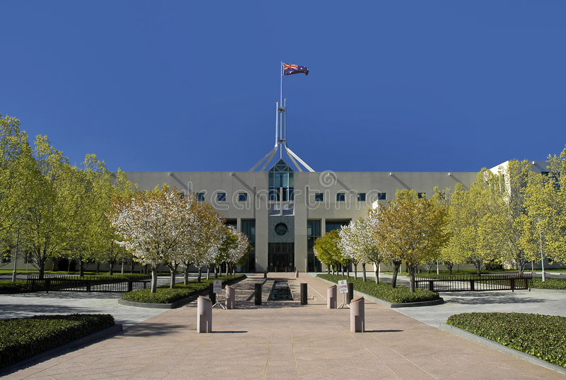 Download CANBERRA PARLIAMENT HOUSE Royalty Free Stock Images - Image: 1991049