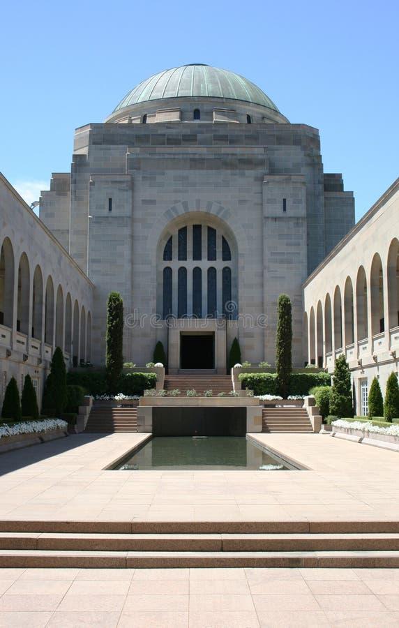 Canberra Pomnika Wojna Obraz Royalty Free