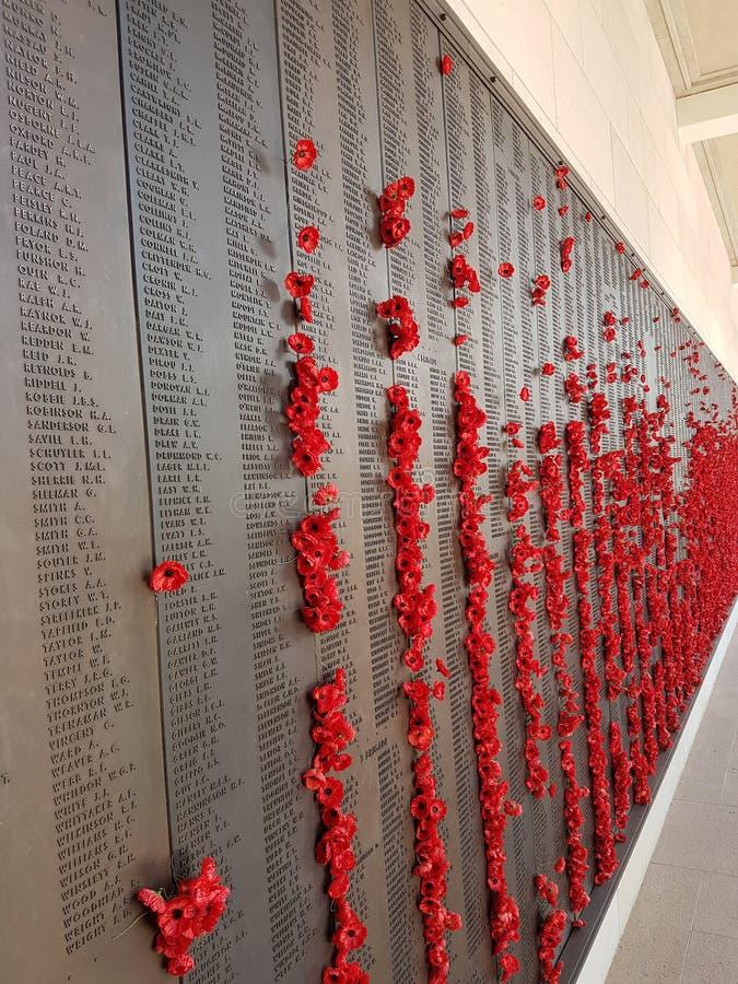 Canberra war memorial stock photography