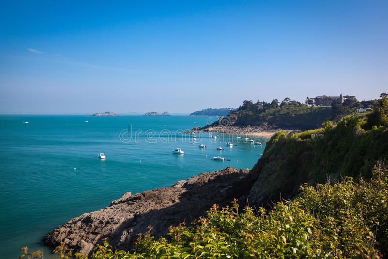 Cancale Brittany France photographie stock