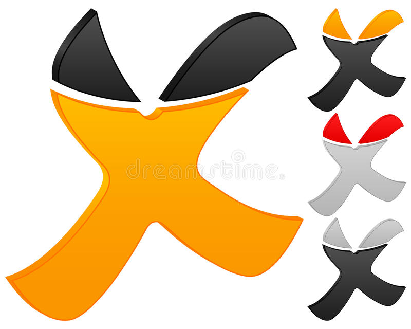 cancel ikona royalty ilustracja