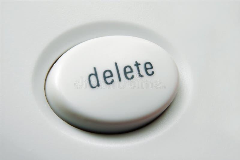 Cancelación foto de archivo libre de regalías