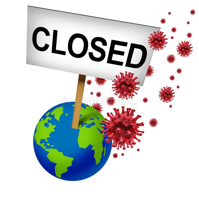 Free Cancelled Global Events Royalty Free Stock Photos - 176414308