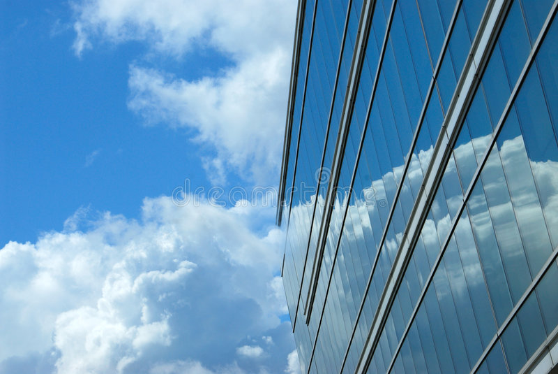 Cancelli delle nubi illustrazione di stock