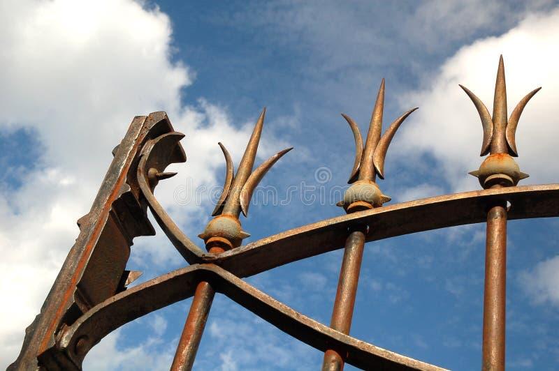 Cancello [01] immagine stock libera da diritti
