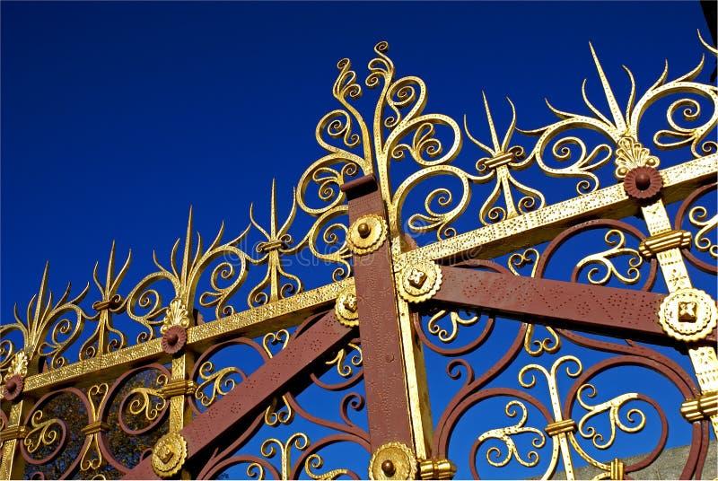 Cancello 2 del cielo fotografie stock