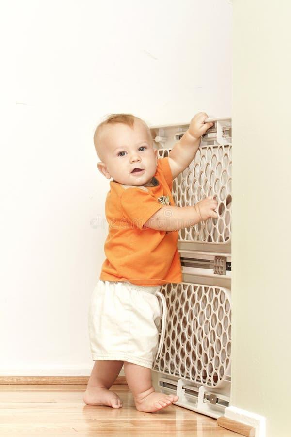 Cancello del bambino fotografia stock