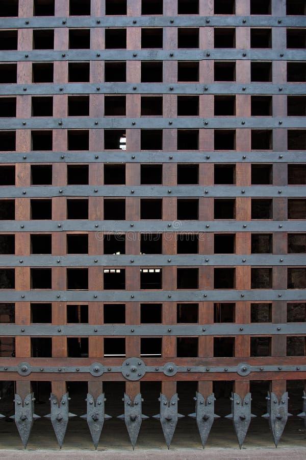 Cancello del castello immagine stock libera da diritti