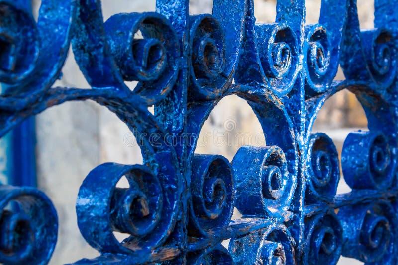 Cancello del ferro saldato immagine stock