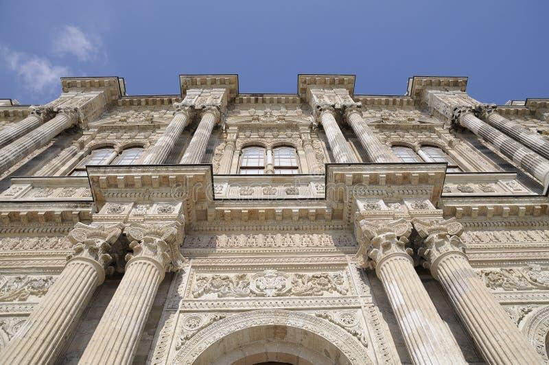 Cancello del palazzo di Dolmabahce fotografie stock libere da diritti