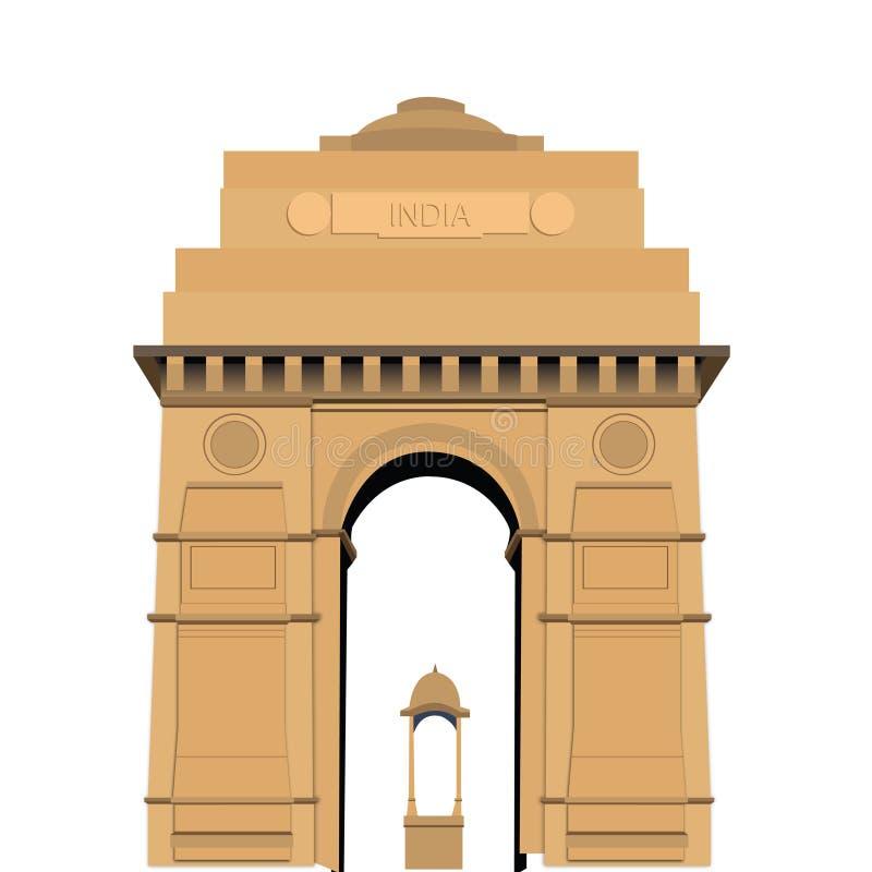Cancello dell'India illustrazione vettoriale