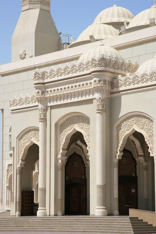 Cancello della moschea di lusso fotografia stock libera da diritti