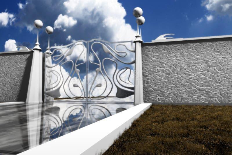 Cancello della perla illustrazione di stock