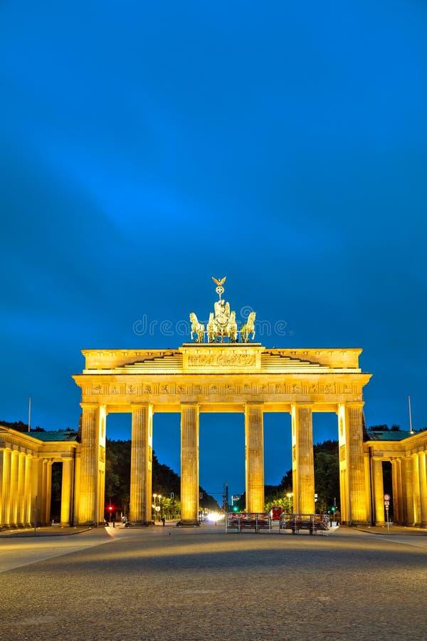 Cancello di Brandeburgo a Berlino, Germania fotografie stock