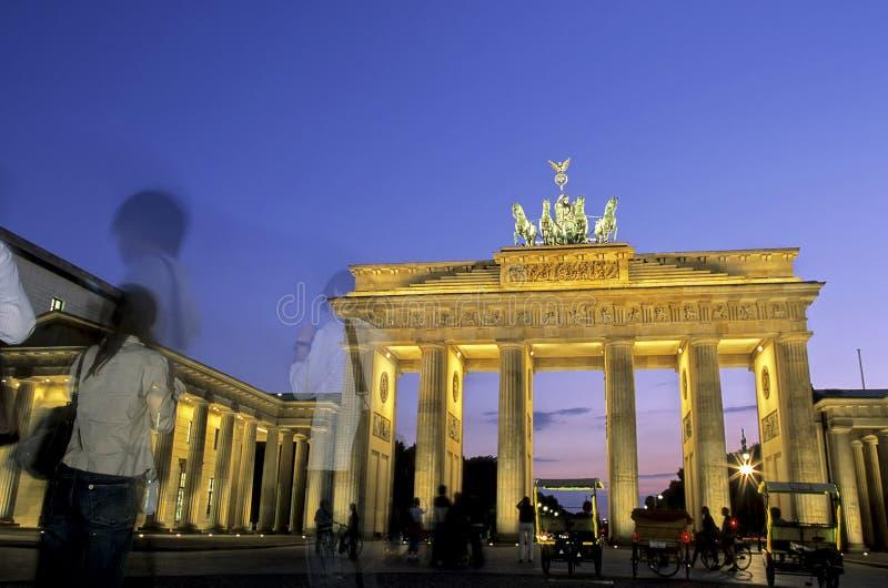 Cancello di Brandeburgo Berlino, Germania fotografie stock libere da diritti