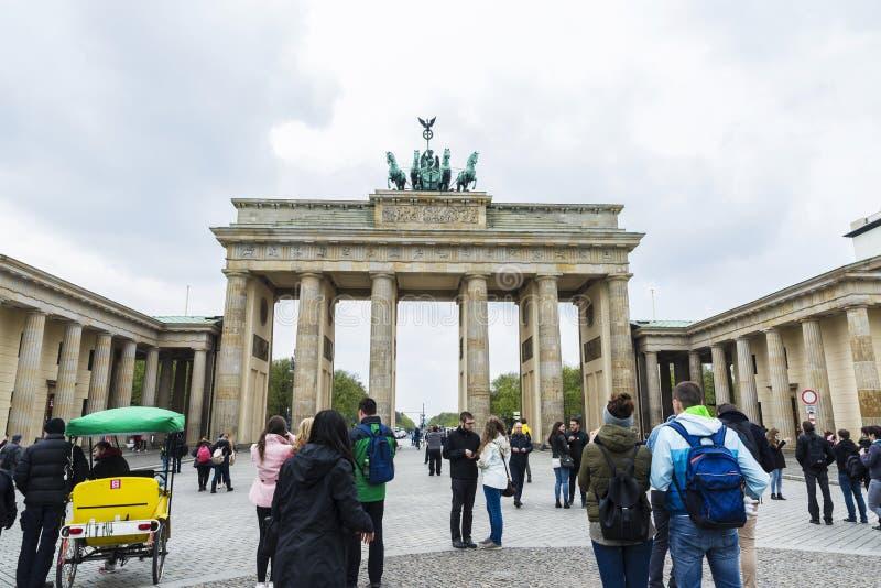 Cancello di Brandeburgo, Berlino, Germania immagini stock libere da diritti
