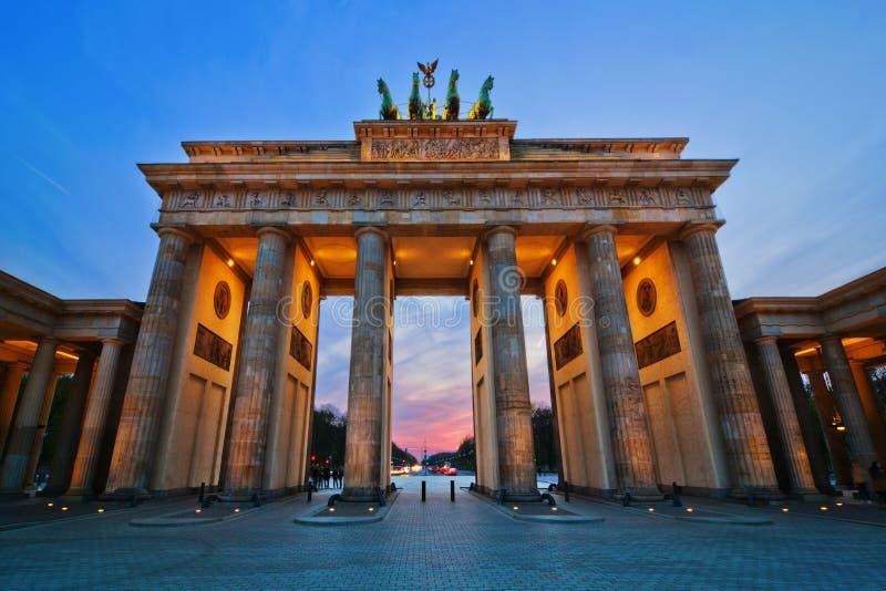 Cancello di Brandenburger fotografia stock