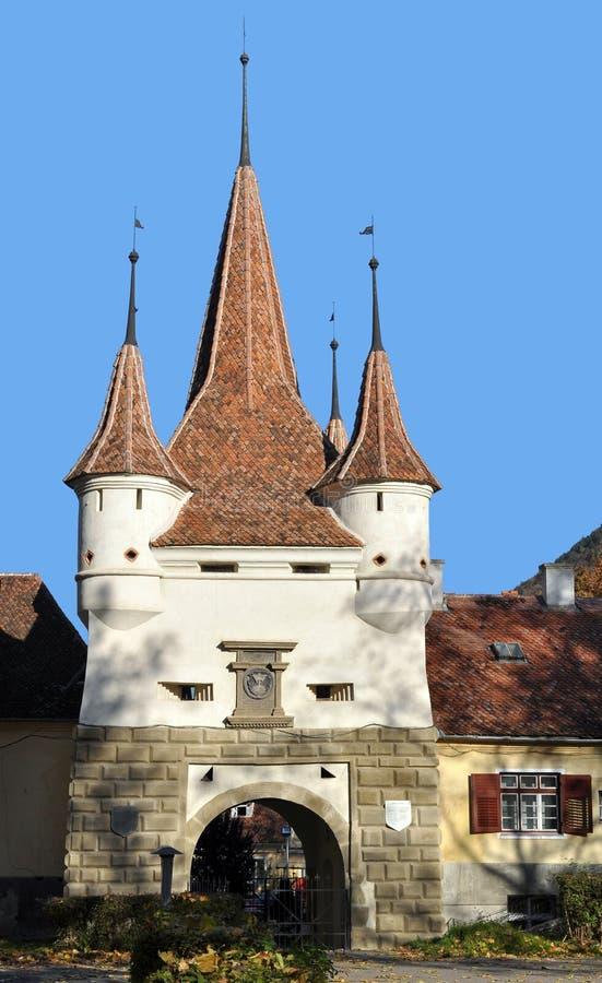 Cancello di Brasov Ecaterina fotografia stock libera da diritti