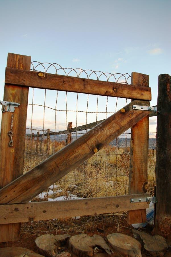 Cancello di giardino immagine stock libera da diritti