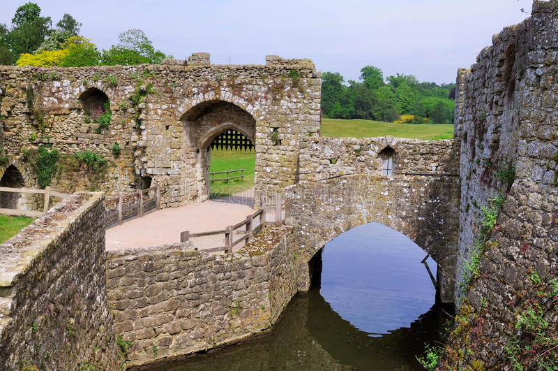 Cancello di Leeds Castle fotografia stock libera da diritti