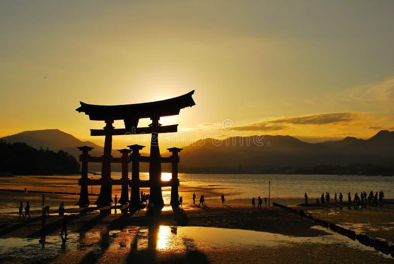 Cancello di Torii immagini stock libere da diritti