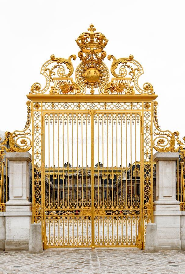 Cancello dorato immagine stock libera da diritti