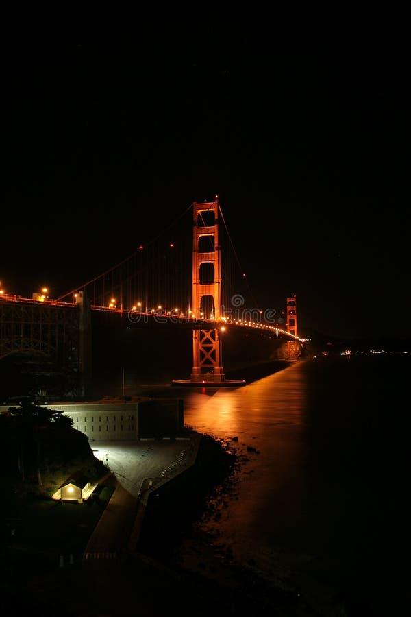 Cancello dorato Brid di San Francisco fotografia stock