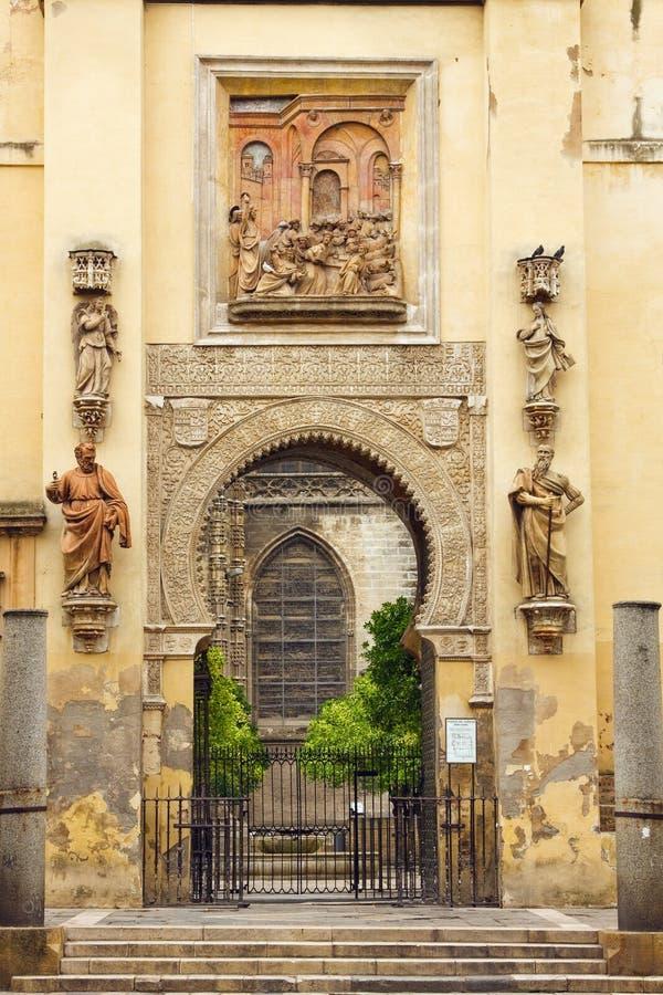 Cancello a La Giralda immagine stock libera da diritti