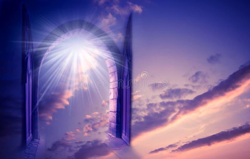 Cancello Mystical fotografie stock libere da diritti