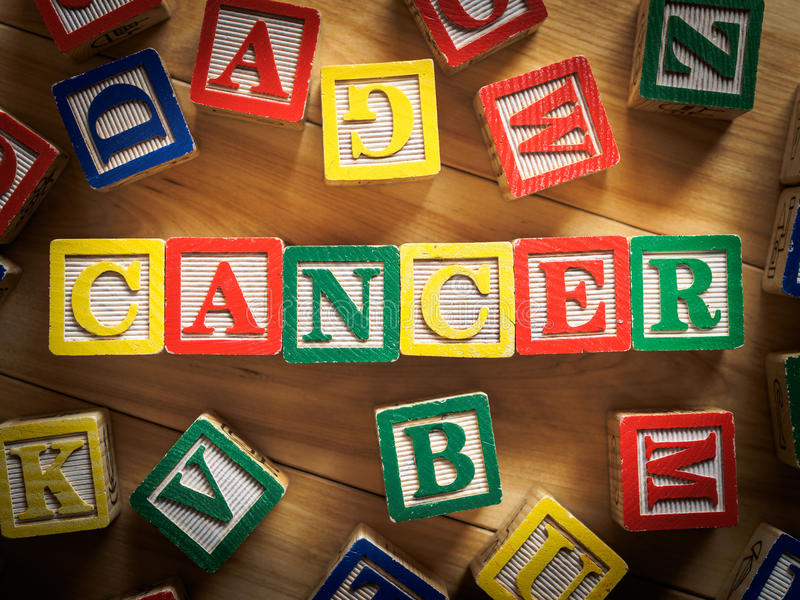 Cancer concept royalty free stock photo