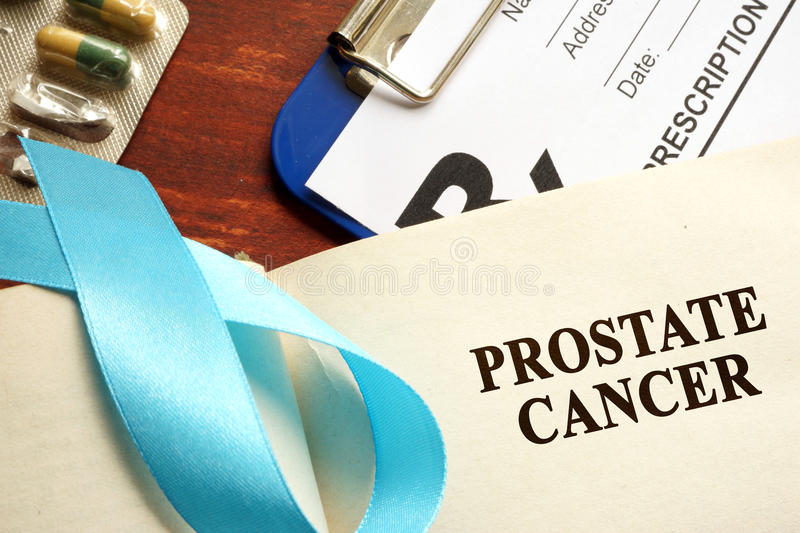 CANCER DE LA PROSTATE photo libre de droits