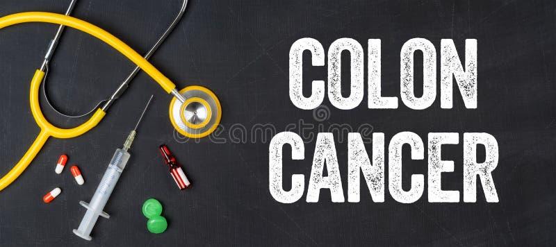 Cancer du côlon photographie stock