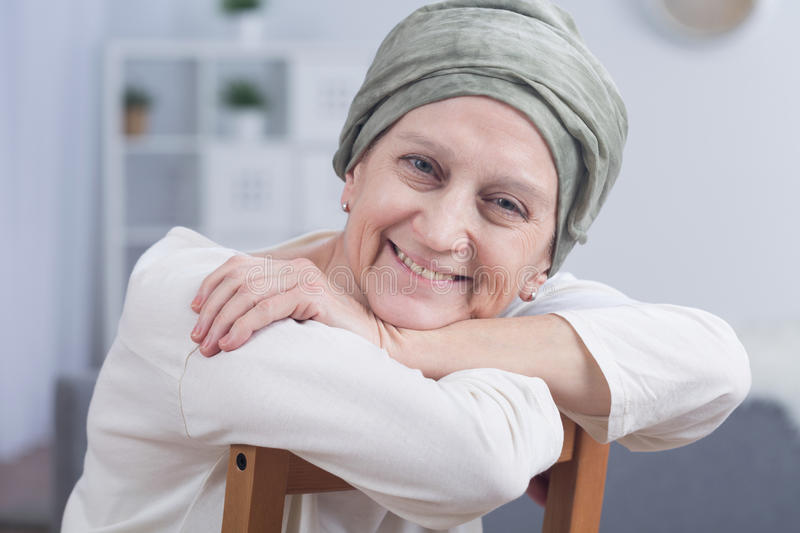 Cancer is not a sentence stock photography