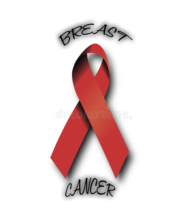 Cancer ribbon stock photography