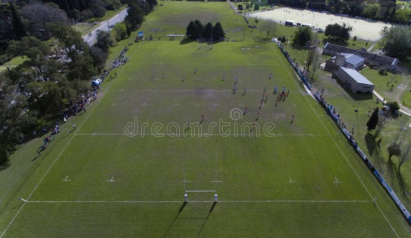 Cancha De Rugby obrazy royalty free